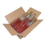 Eureka – 1″ Flat Applicator Brush- Pack of 36