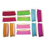 Eureka – Large Dandy Brushes 12 Pack- Neon