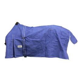 Eureka – Unlined Blue Canvas Rug