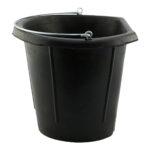 Showcraft – Rubber Flat Back Bucket 12ltr