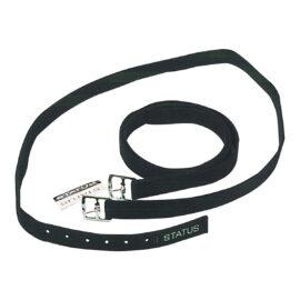 Status – 1″ Stirrup Leathers Black 56″