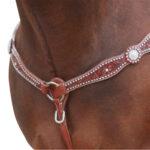 Navaho – Swarovski Crystal & Studs Breastplate