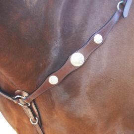 Navaho – Scalloped Western Breastplate
