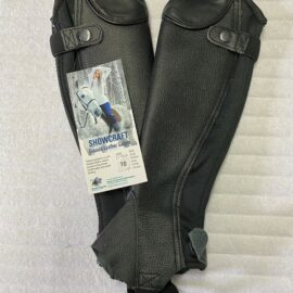 Showcraft  Grained Leather Gaiters Kids