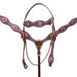 Navaho Purple Stone Western Breastplate